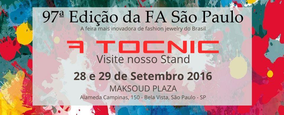 A TOCNIC NA 97ª EDICAO DA FA SAO PAULO